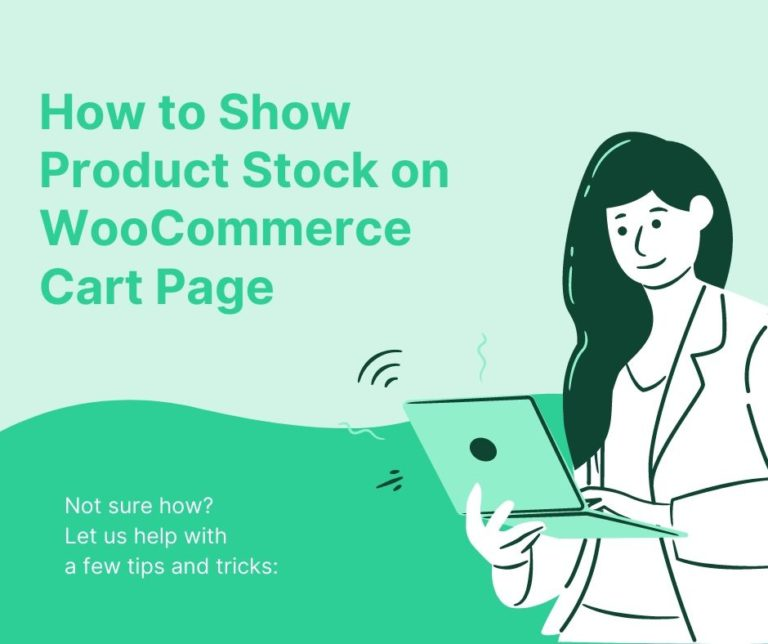 How to Show Product Stock on WooCommerce Cart Page