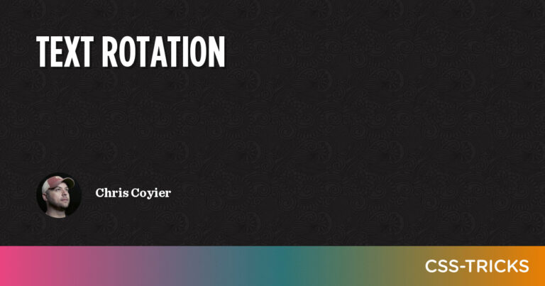How to Text Rotation in CSS